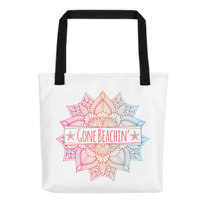 Gone Beachin' Mandala Tote bag - Gone Beachin' Apparel Co.