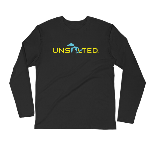 Great Lakes Simplified Unsalted Long Sleeve Fitted Crew
