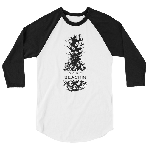 Pineapple 3/4 Sleeve Raglan Shirt
