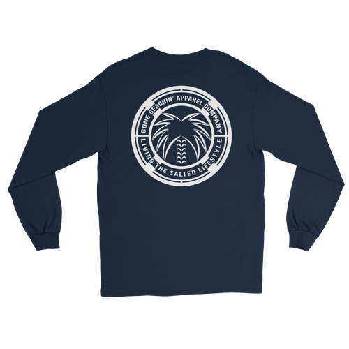 Salted Logo Crest Long Sleeve Shirt