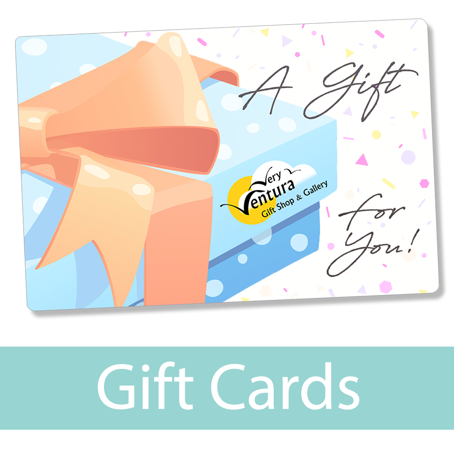 Gift Cards - Very Ventura Gift Shop & Gallery