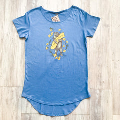 California Poppy Women's Tee - Blue