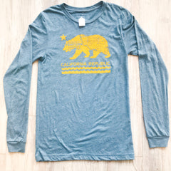 California Bear - California Cut - Light Blue