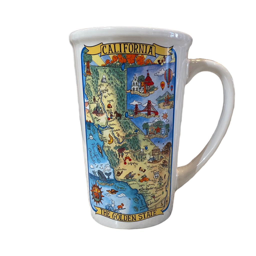 California Collection Jumbo Mug - Very Ventura Gift Shop & Gallery
