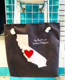 My Heart is in Ventura, CA Tote