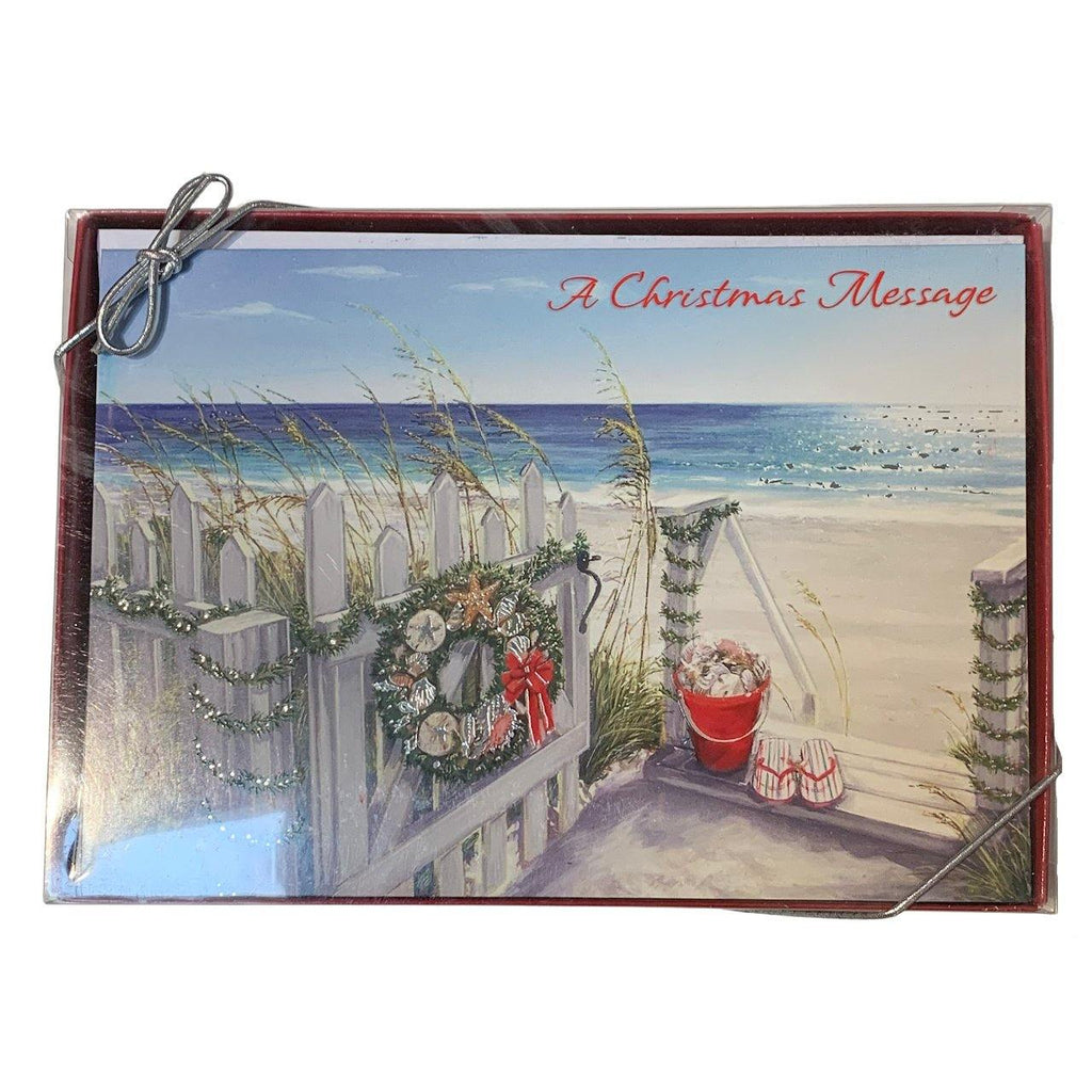 'A Christmas Message' Holiday Cards - Very Ventura Gift Shop & Gallery
