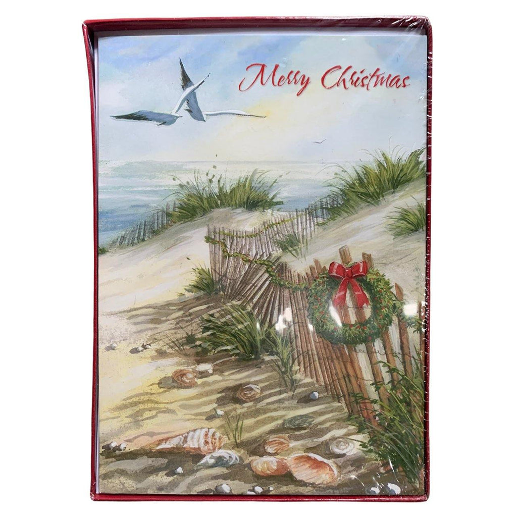 'Merry Christmas' Seagulls Holiday Cards - Very Ventura Gift Shop & Gallery