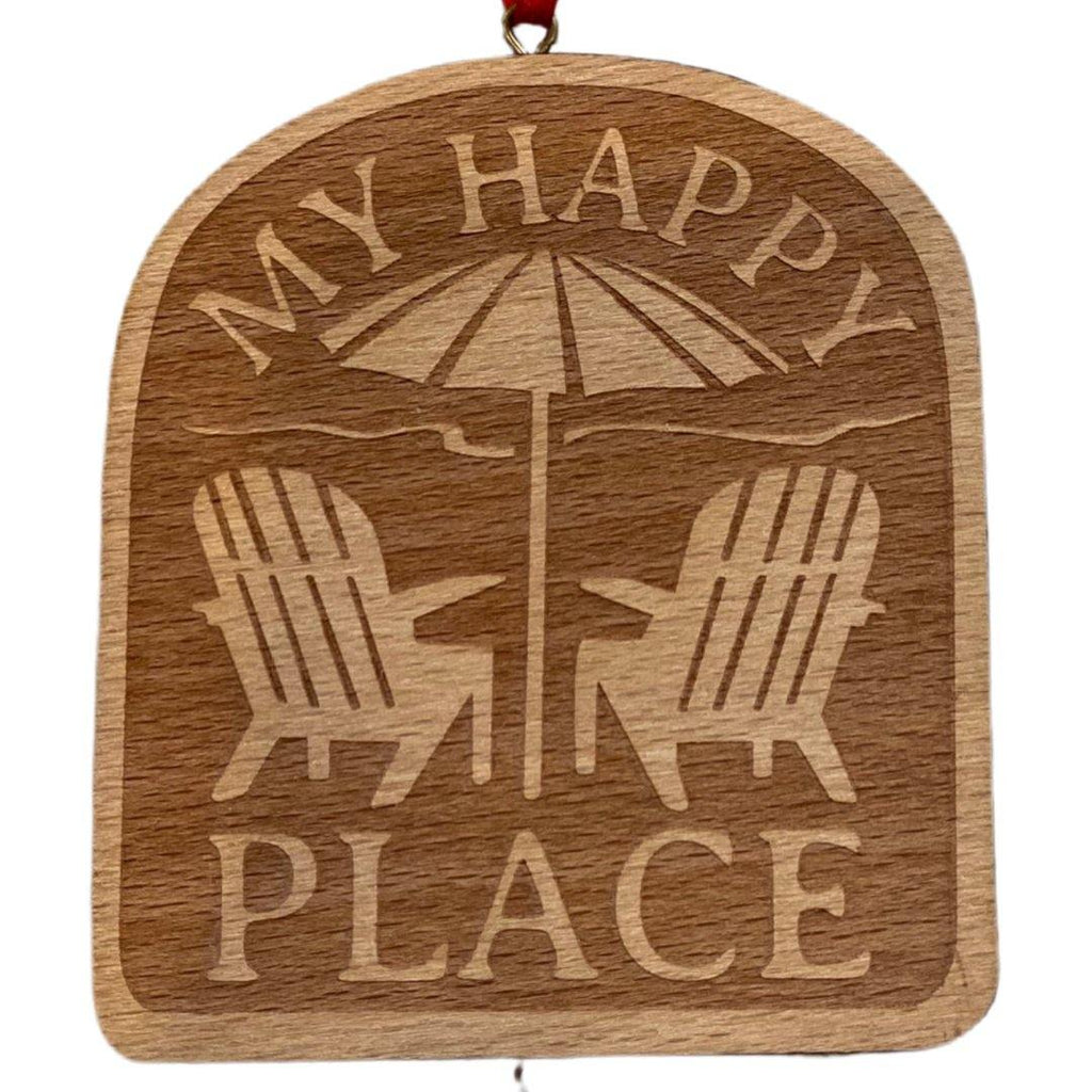 'My Happy Place' Ventura Ornament - Very Ventura Gift Shop & Gallery