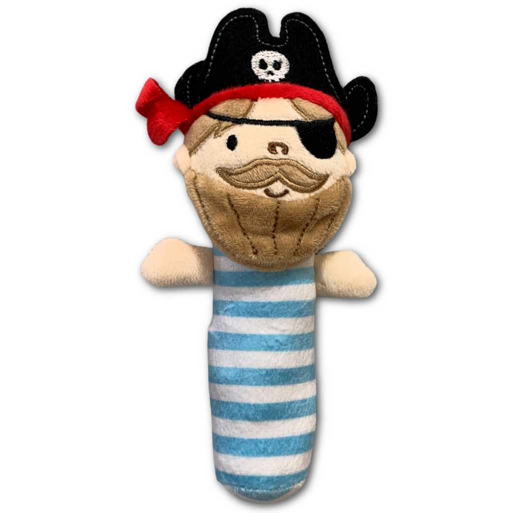 Pirate Rattle Toy - Very Ventura Gift Shop & Gallery