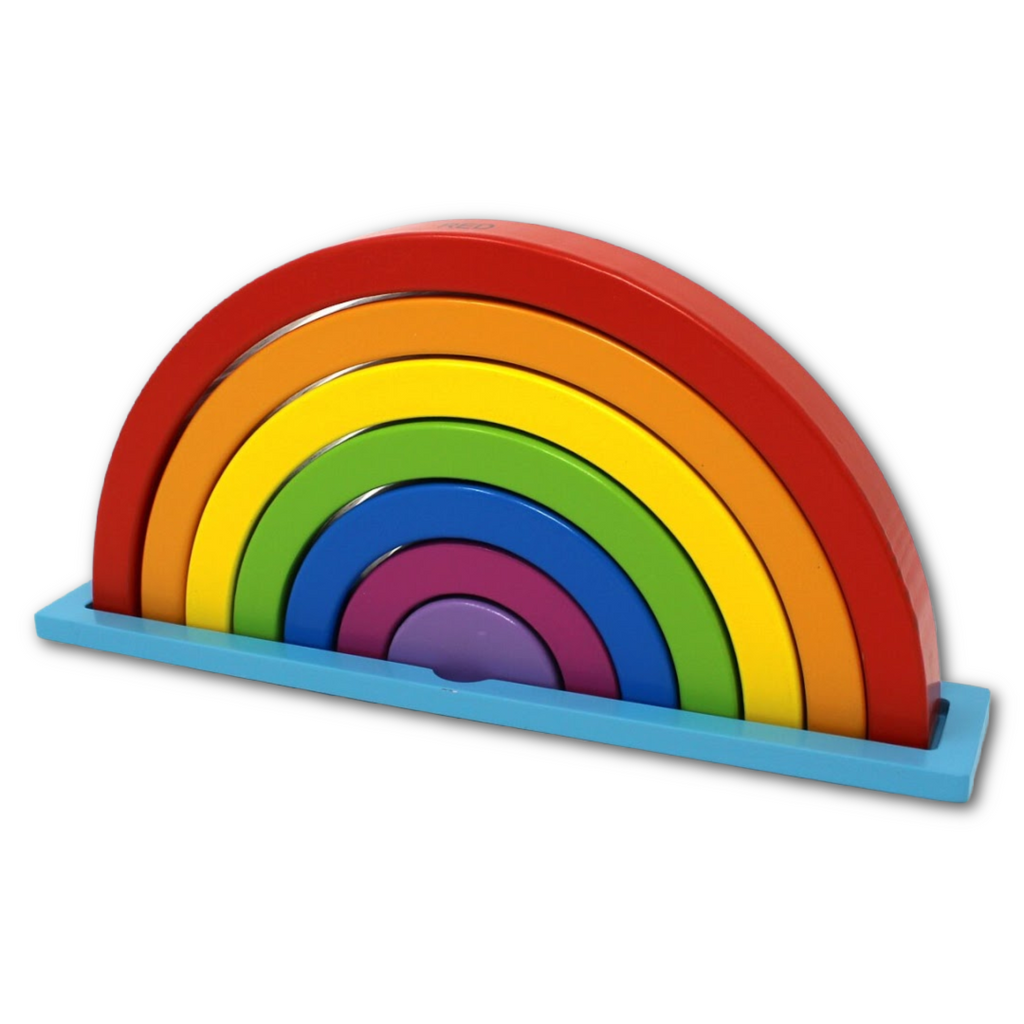 Rainbow Puzzle Toy - Very Ventura Gift Shop & Gallery