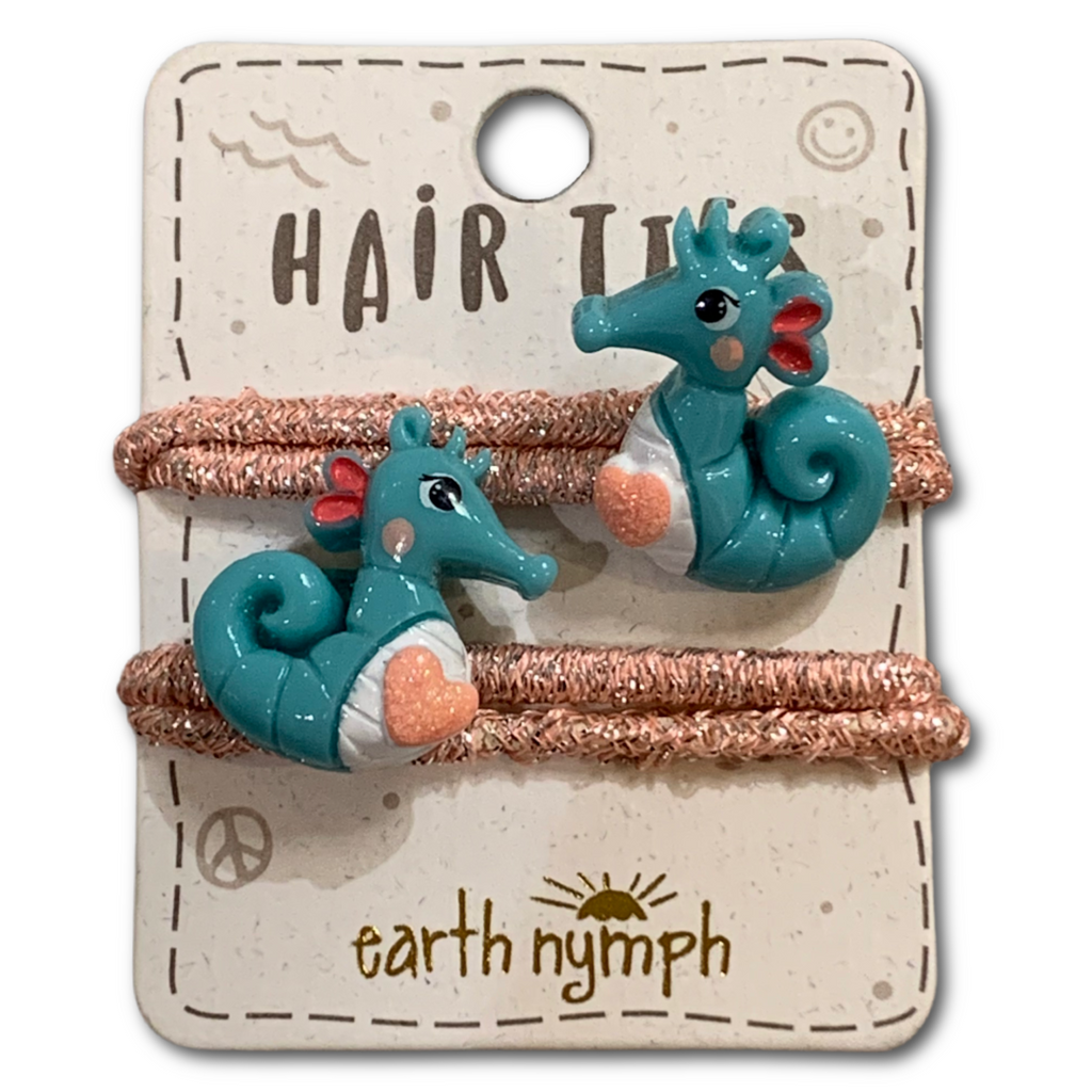 Seahorse Hair Ties - Very Ventura Gift Shop & Gallery