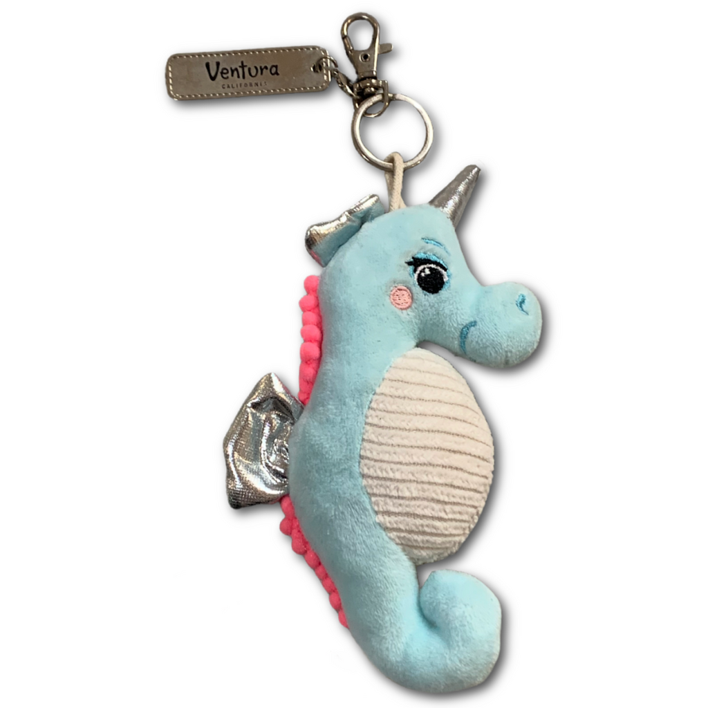 Seahorse Plush Keychain - Very Ventura Gift Shop & Gallery