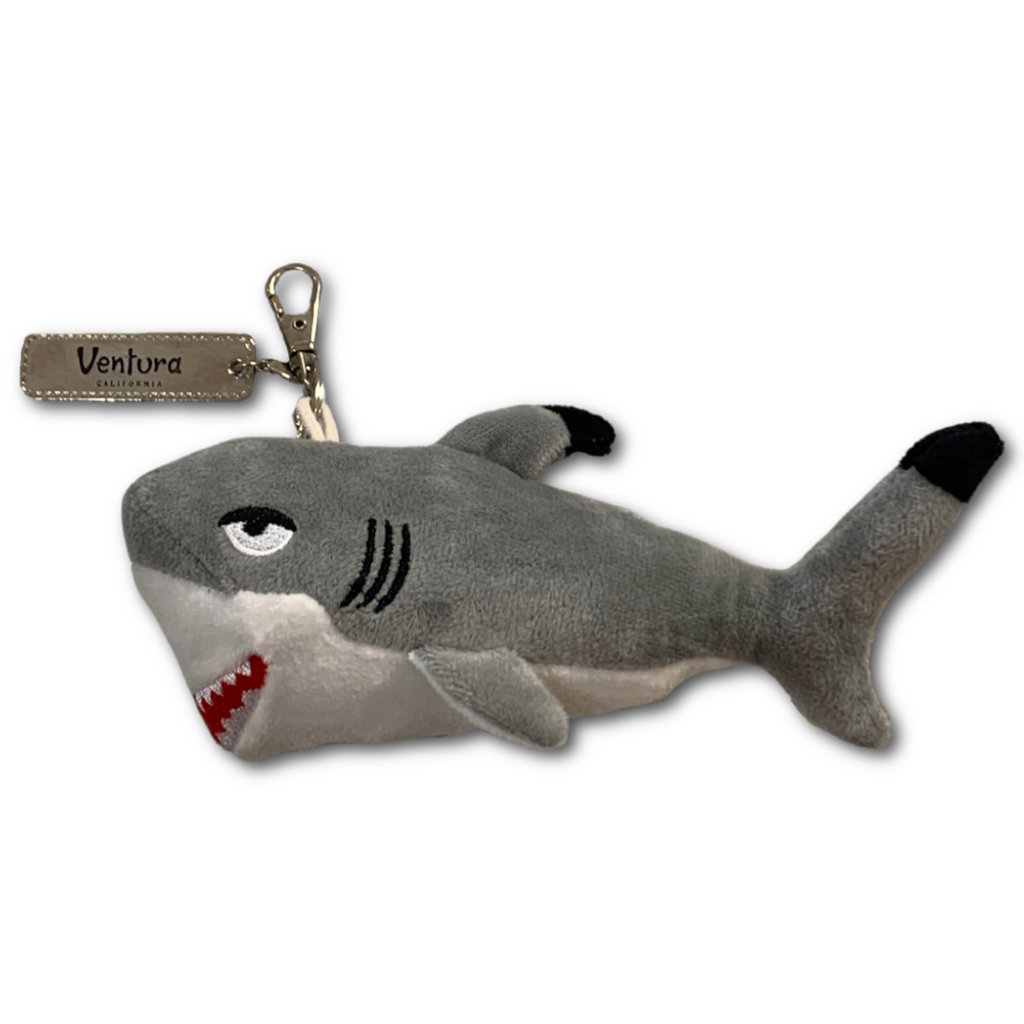 Shark Plush Keychain - Very Ventura Gift Shop & Gallery