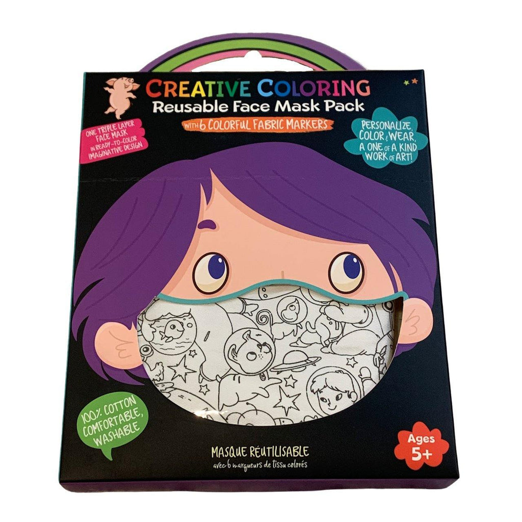 Creative Coloring Face Masks - YOUTH - Very Ventura Gift Shop & Gallery