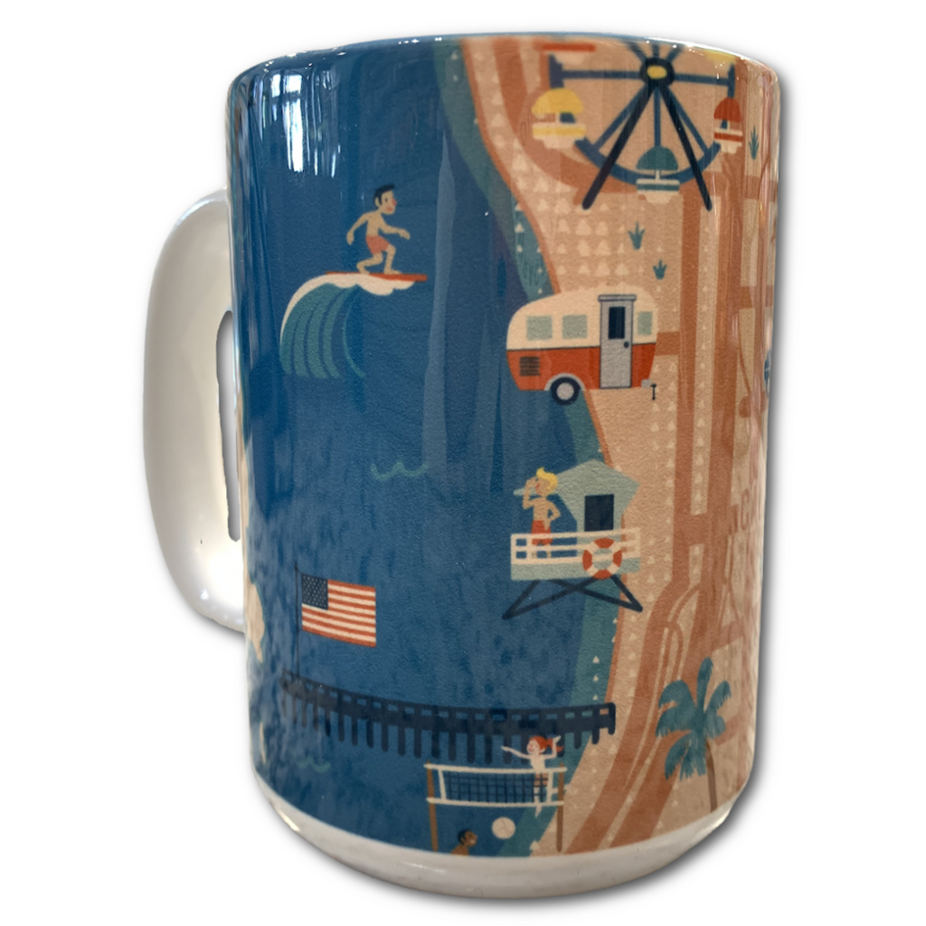 Ventura Map Mug - Very Ventura Gift Shop & Gallery
