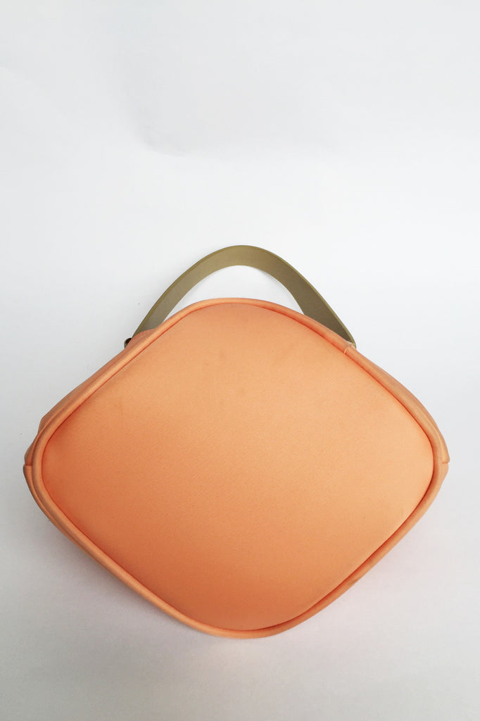 Sac à main orange pastel