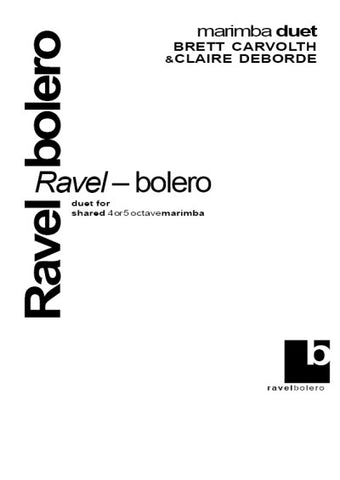 Ravel's Bolero for Marimba Duo