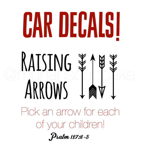 Excellent Raising Arrows Vinyl Decal – Lumber Gypsy RP51