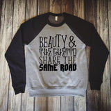 Beauty and the ghetto share the same road