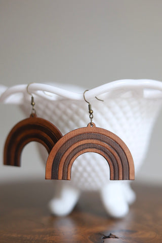 Promise Leather Earrings
