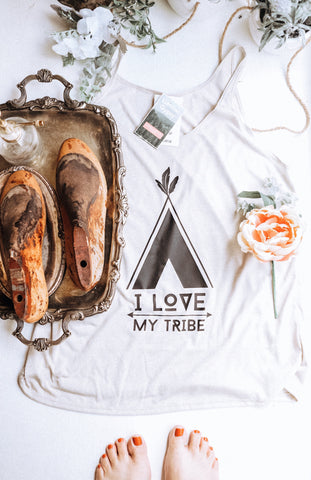 Tribe Slouchy Tank