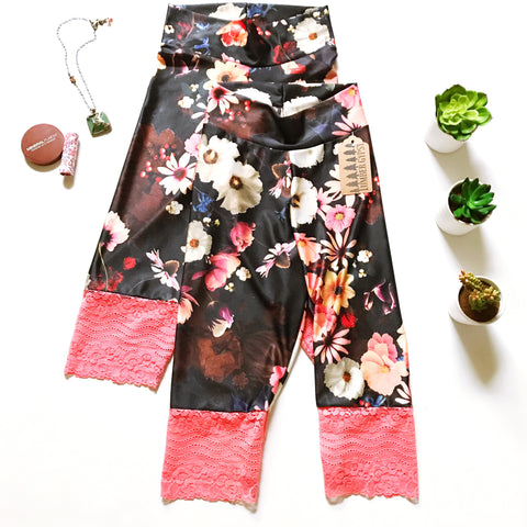 Workout to Weekend Floral Biker Bloomers
