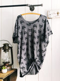 Grey Skull Gypsy Tunic