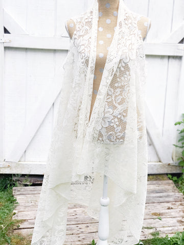 Gypsy Lace Duster