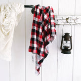 Lumber Plaid Knit Swaddle