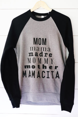 Mom Pyramid Sweatshirt