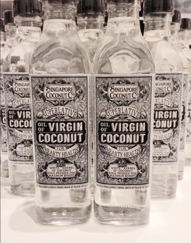 Black Label Virgin Coconut Oil :: Pack of 2 x 425ml :: Singapore Coconut Company