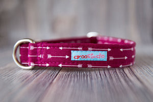 Arrow Cotton Dog Collar