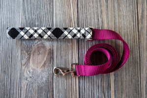 Prancer Plaid Lead