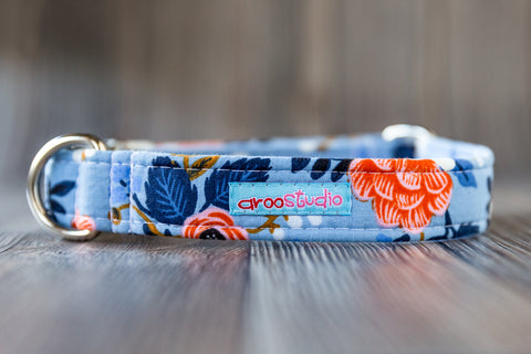 Idlewild Cotton Dog Collar