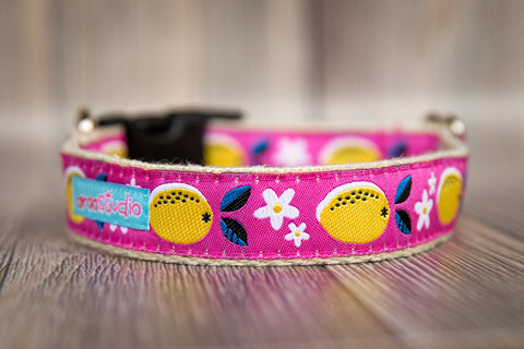 Pink Lemonade Hemp Collar