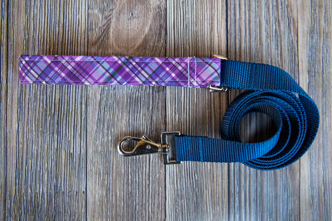 Purple Plaid Lead