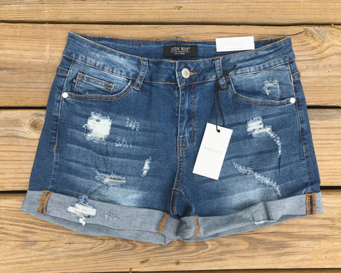 Savannah Distressed Denim