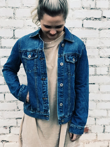 Blue Jazz Denim Jacket