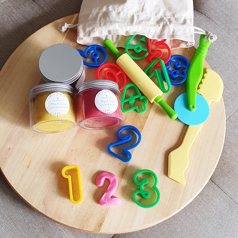 Numbers Play Dough Kit