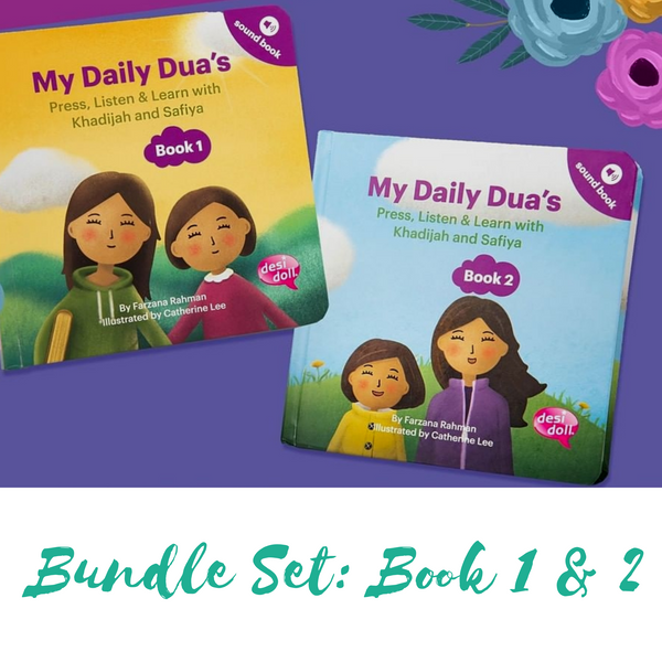 Bundle Set: My Daily Dua's Story Sound Book 1 & 2