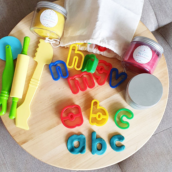 Alphabet Play Dough Kit