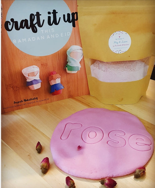 Little Crafters: MYO (Make Your Own) Instant Botanical Play Dough Mix Deluxe + Craft Book