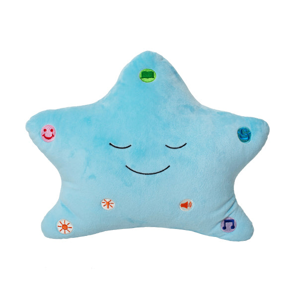 "BEST SELLER - ""The Original and Best"" My Dua' Pillow with Light & Sound - Blue"