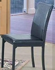 1210- DINING CHAIRS- PU LEATHER- 2 PACK