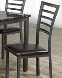 (1026- 4 PACK)- METAL- DINING CHAIRS- will be available after october 30, 2020