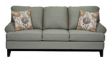 (1102 GREY)- CANADIAN MADE- FABRIC SOFA- (DELIVERY AFTER 2 MONTHS)