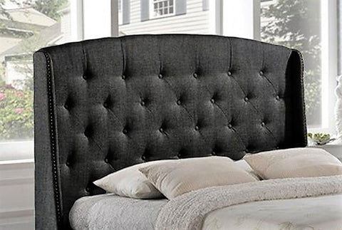 QUEEN SIZE- (194R)- FABRIC- CANADIAN MADE- HEADBOARD- MANY COLORS