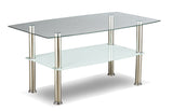 2026- GLASS- COFFEE TABLE- WITH 2 SIDE TABLES