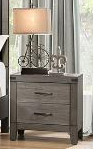 2042- BROWNISH GREY COLOR- NIGHT STAND