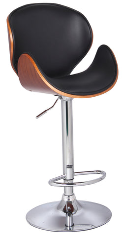 2203- BLACK COLOR- ADJUSTABLE BAR STOOL